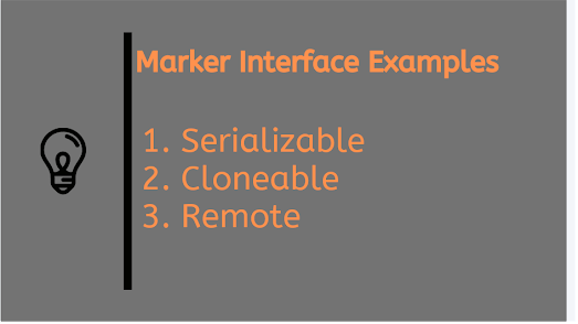 What is Marker interfaces in Java and why required? Answer