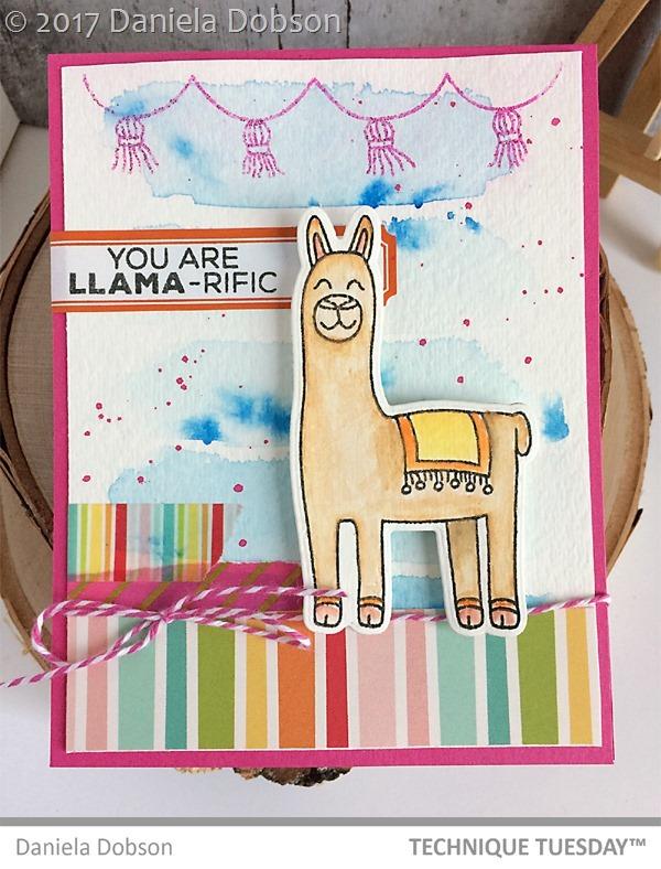 Llama-refic by Daniela Dobson