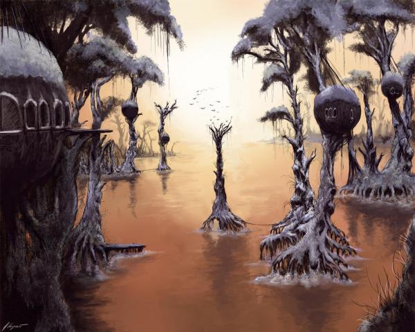 Swamp Of Sorrows, Magical Landscapes 2