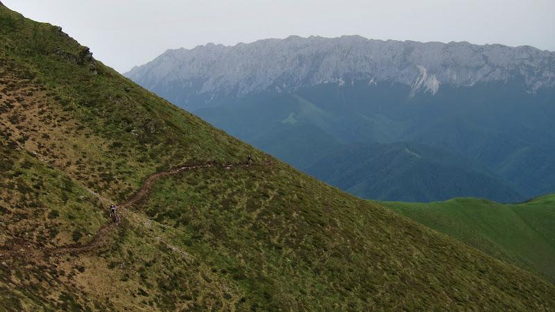 Locul MTB-ului este pe munte.