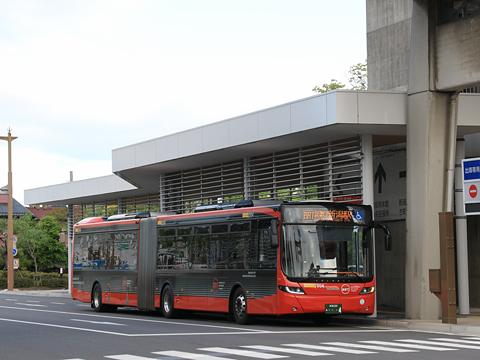 新潟交通 萬代橋ライン 市役所前 新潟駅前方面行きバス停 その1