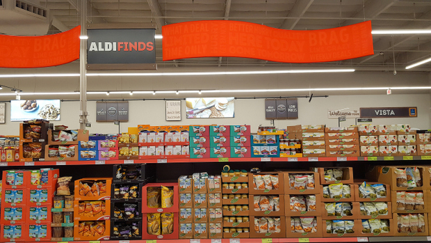 photo of the Aldi deals section