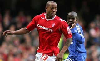 Junior Agogo playing with Nottingham forest. PHOTO | NMG