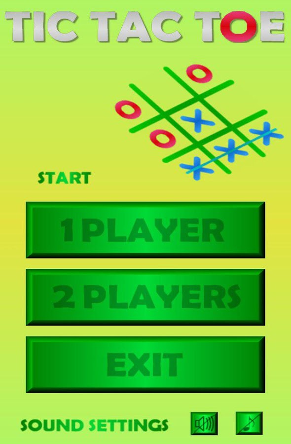 tic tac toe for 2 players android apps on google play. Black Bedroom Furniture Sets. Home Design Ideas