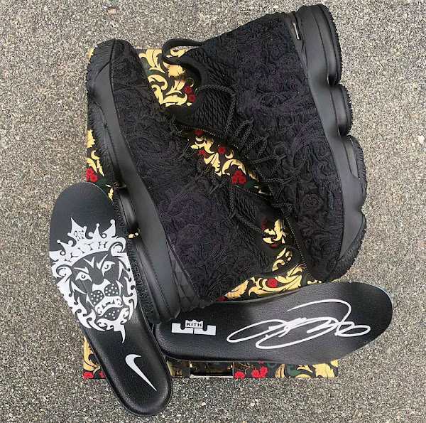 Get Up Close and Personal with Suit of Armour KITH X LeBron 15