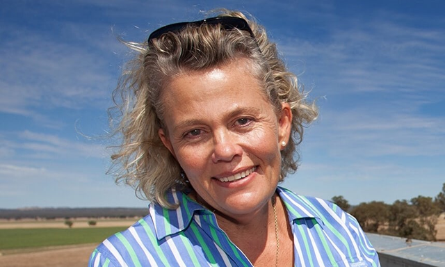 Fiona Simson on climate change in Australia: 'Farmers have come quite a long way in their attitude.' Photo: PR