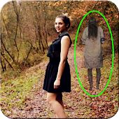 Scary Ghost In Photo