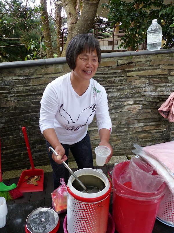 délicieuse boisson réalisée avec les algues précédemment vues