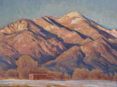 """NM Mountain with Adobe"""