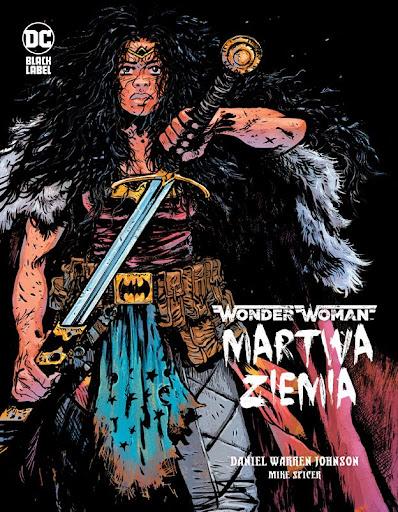 Wonder Woman Martwa Ziemia okładka
