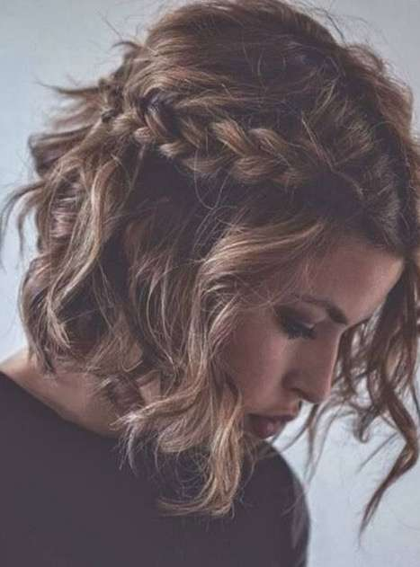 Curly Short Hair Winter Trend Cuts 2018 2