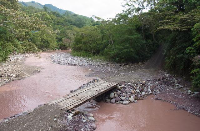Río Garagoa, Santa María en Boyacá, 820 m (Boyacá, Colombie), 2 novembre 2015. Photo : C. Thoumyre
