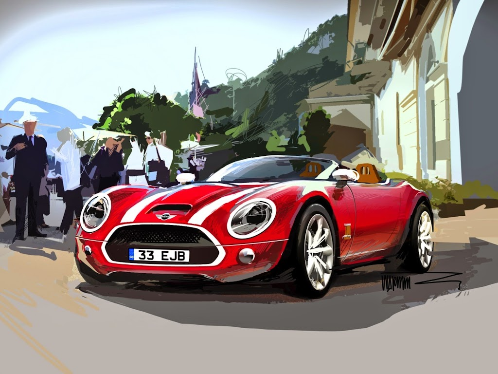 MINI Superleggera Vision Concept 60