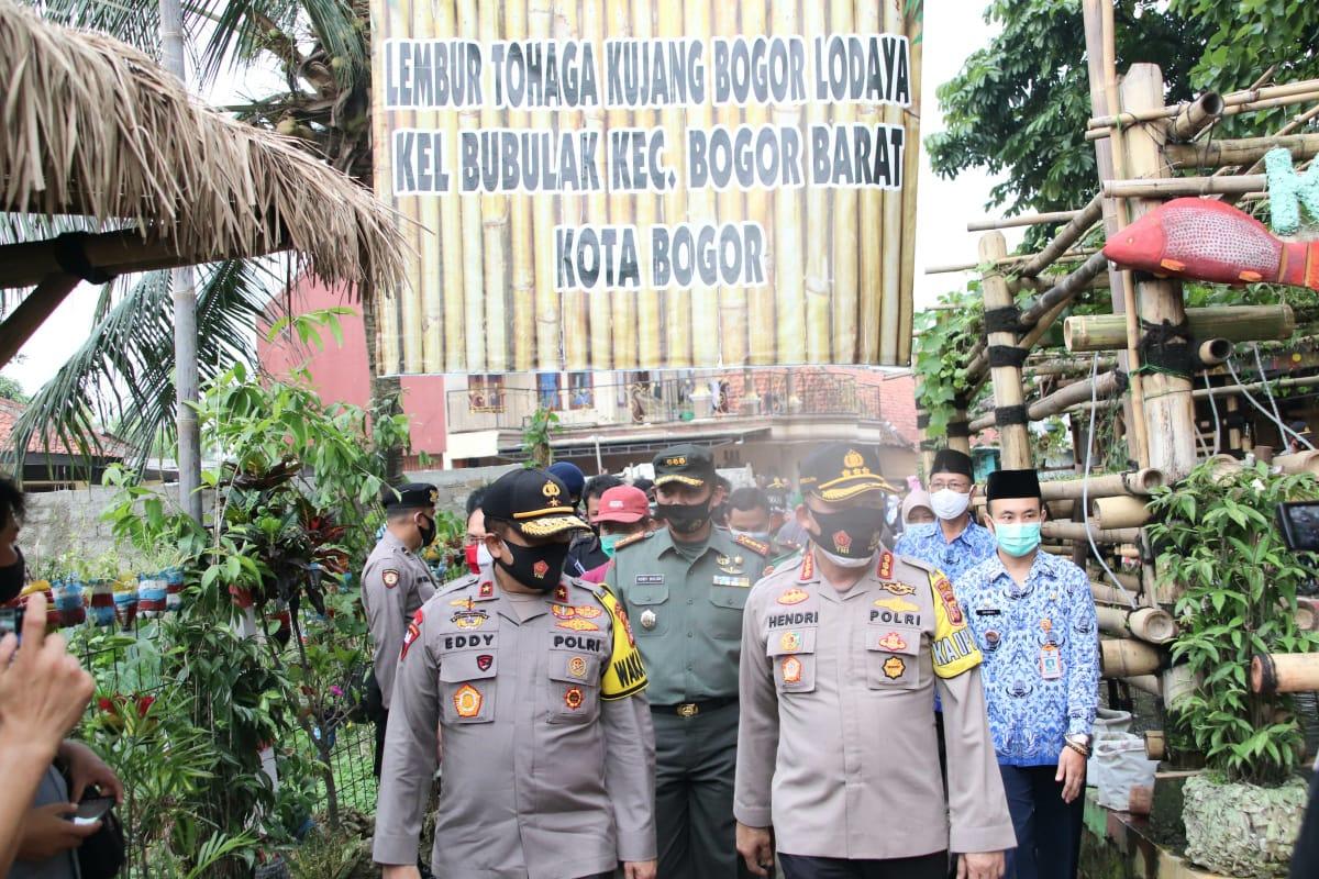 Wakapolda Jabar Melaksanakan Kunjungan Ke Lembur Tohaga Kujang Lodaya Kota Bogor