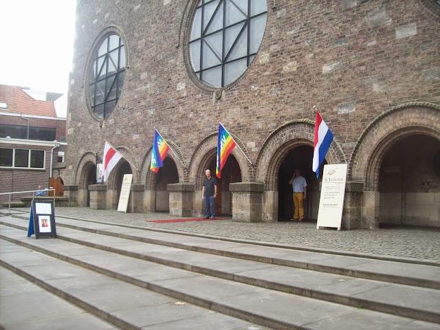 de Jacobuskerk, waarin de viering van de Universele Dag van de Vrede op 21 september 2014 plaatsvond