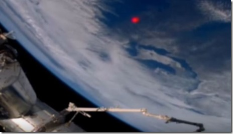 Red Pulse at International Space Station