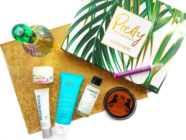 Look Fantastic Beauty Box Pretty In Paradise July 2017 Review
