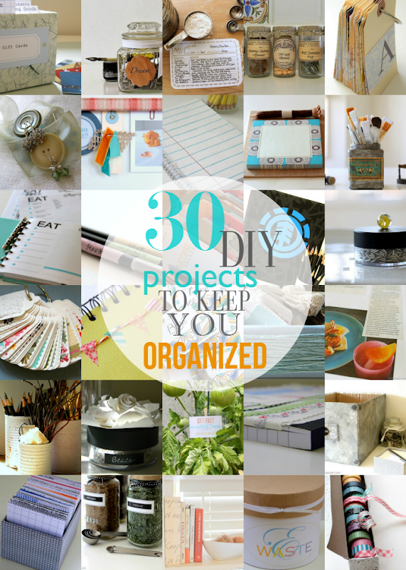 Round up, organization, diy, easy,