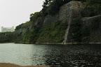 大坂城:本丸東面の石垣