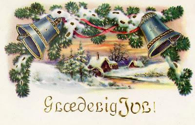 Visiting vintage more vintage christmas cards from vintage danish cards m4hsunfo