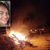 Moto pega fogo após colisão com carro, e mulher morre na zona rural de Valente