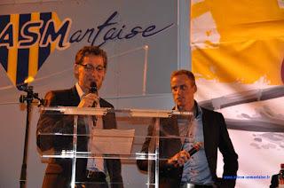 Assemblée Générale ASM avec Jérémie Azou et Frédéric Andolfi.