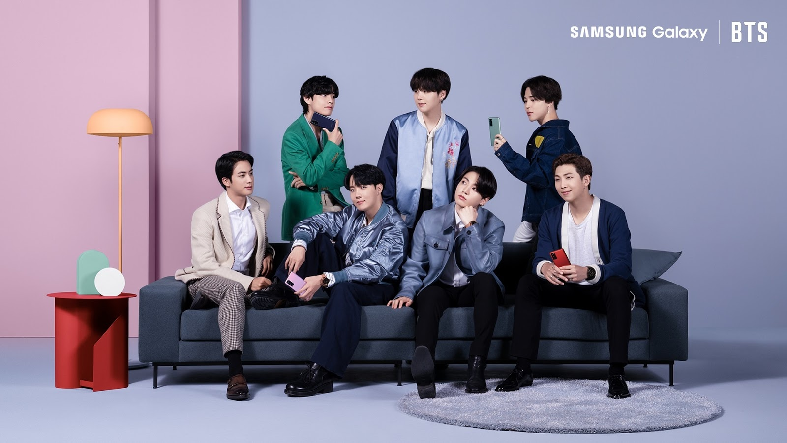 7 หนุ่ม BTS เซอไพรซ์เหล่า A.R.M.Y. กลางไลฟ์อีเวนต์เปิดตัว Samsung Galaxy S20 FE สมาร์ทโฟนรุ่นใหม่ล่าสุด จัดเต็มทุกฟีเจอร์ยอดนิยม เพื่อกาแลคซี่แฟนโดยเฉพาะ