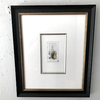 Alexander Befelein Signed 'Woolworth' Etching