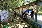 Petugas Gabungan Edukasi Pengunjung Waduk Bade