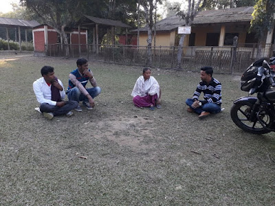 Support visit to Mulagaohennapara, Bongaigaon