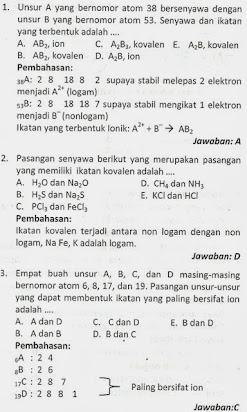 Contoh Soal Kimia Kelas 10 : contoh, kimia, kelas, Contoh, Essay, Kimia, Kelas