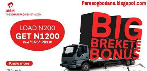 Introducing Airtel Big Brakete Bonus Offer