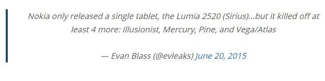 Guilin, Honjo, Saana và Saimaa: tên mã các thiết bị Lumia chạy Windows 10 sắp tới?
