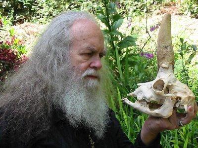 Oz Oberon Skull, Oberon Zell Ravenheart