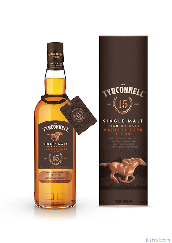 Introducing The Tyrconnell® 15 Year Old Madeira Cask Finish, A Limited Edition Irish Whiskey Like None Other