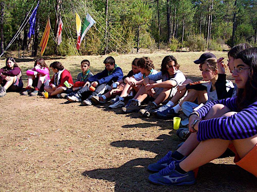 Campaments amb Lola Anglada 2005 - CIMG0384.JPG