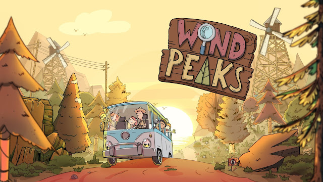 I spy an adventure camp. Wind Peaks review.