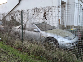 Abandoned Nissan 300zx (Z32)