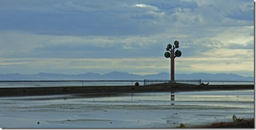 Utah morning along I-80