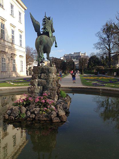 Garten am Schloss Mirabell, Salzburg