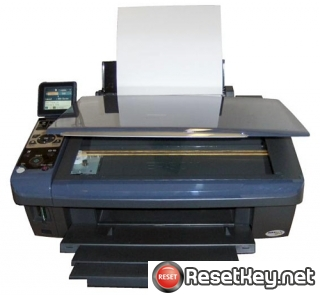 Reset Epson DX8400 Waste Ink Counter overflow error