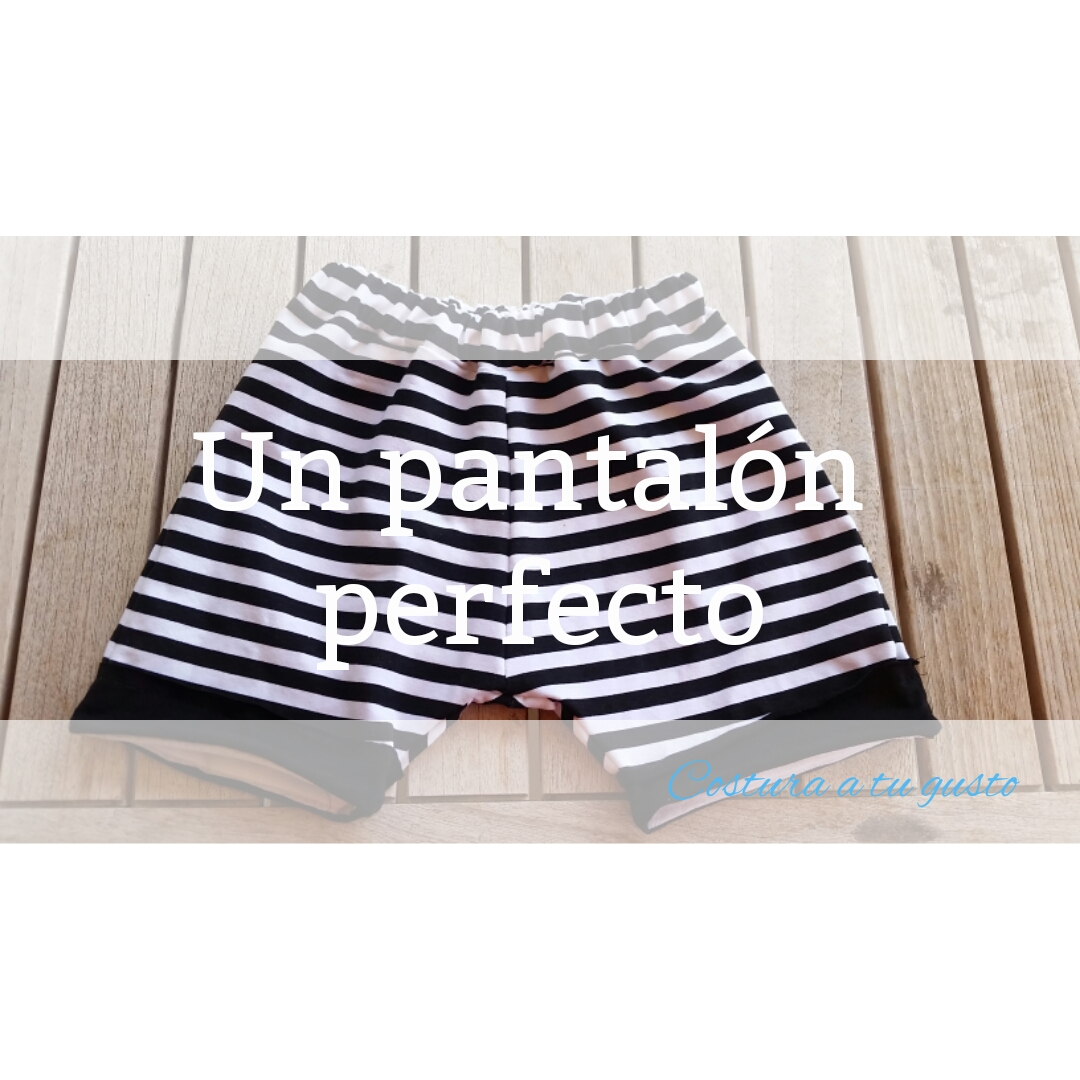 Costura a tu gusto: Pantalón corto, con patron gratis