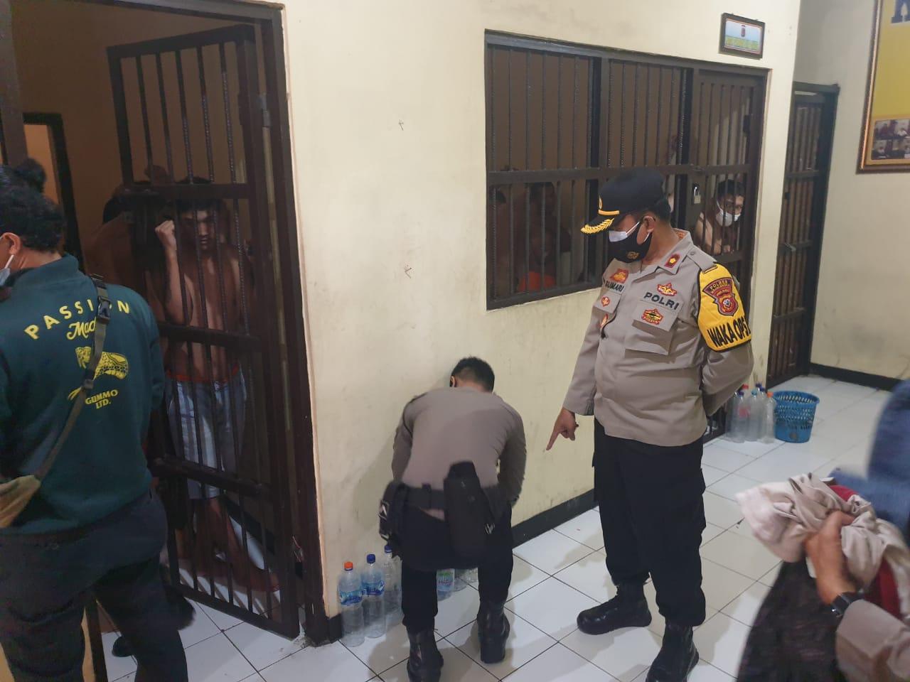 Sidak Ruang Tahanan, Kompol Sumari Instruksikan Tingkatkan Kewaspadaan