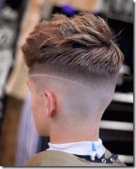 Piecey skin fade mens haircut