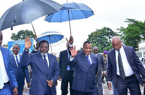 RDC : tripartite Kabila-Sassou-Lourenco à Kinshasa