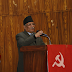 The Maoists called a meeting to discuss their support for the government
