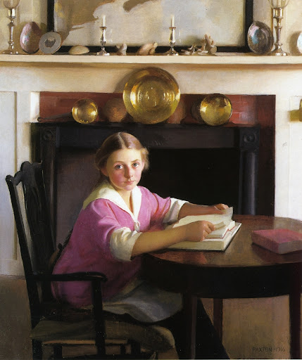 William McGregor Paxton - Elizabeth Blaney