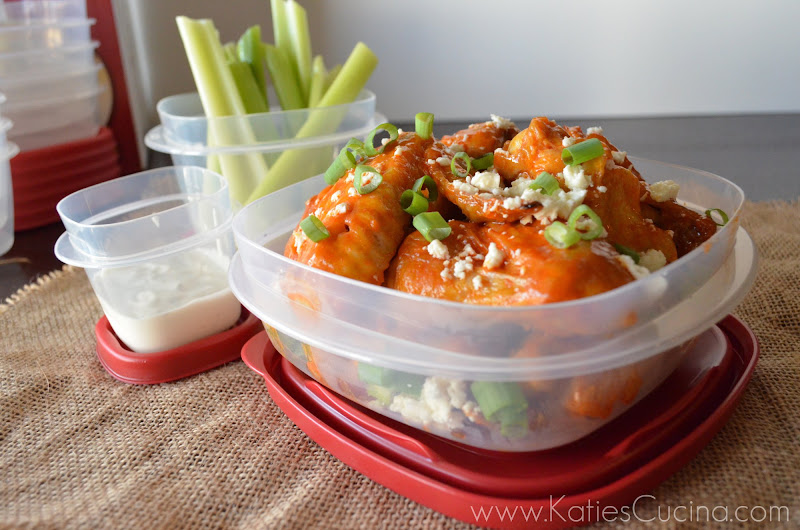 Baked Buffalo Queso Fresco Wings