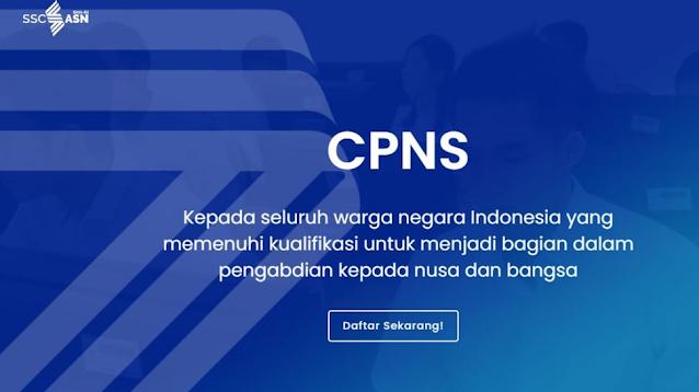 Daftar CPNS 2021