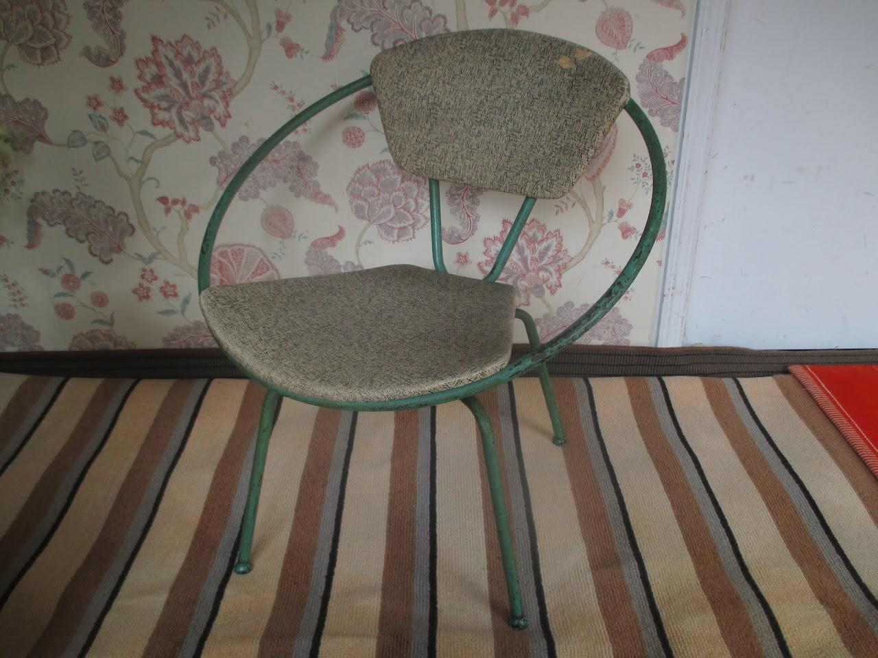 Mid-Century Hoop Chair